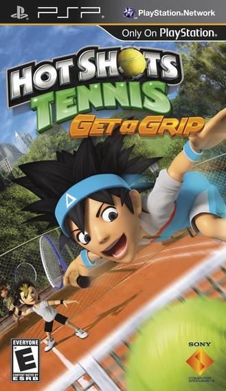Jogo Hot Shots Tennis Get A Grip - Psp - Original