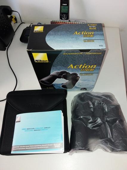 Binóculo Nikon Action Extreme 7245 Atb 10x50 Novo