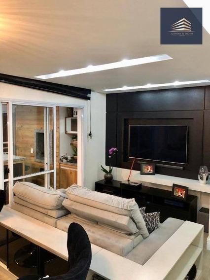 Apartamento Na Vila Augusta, Condomínio Parque Clube, 92m², 1 Suíte, 2 Vagas, Aceita Permuta. - Ap0898