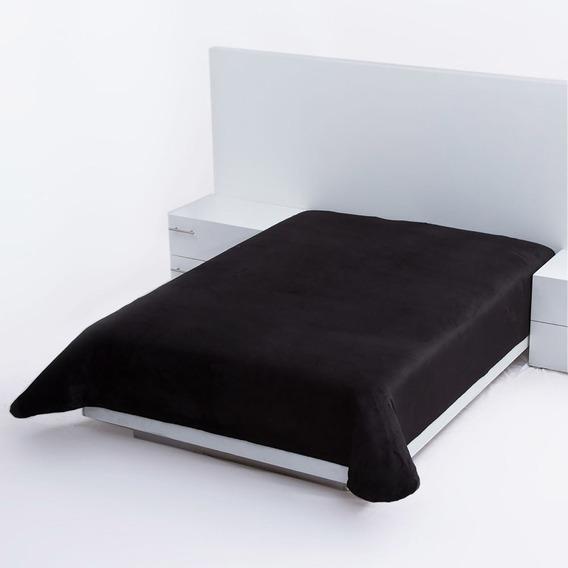 Cobertor Ultrasuave Cama King Size Poliester Negro Concord