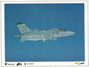 Poster De Aviação Caça Amx
