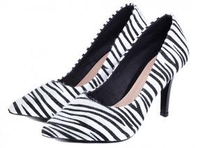 eef55512b8 Scarpin De Zebra Jorge Alex - Sapatos no Mercado Livre Brasil
