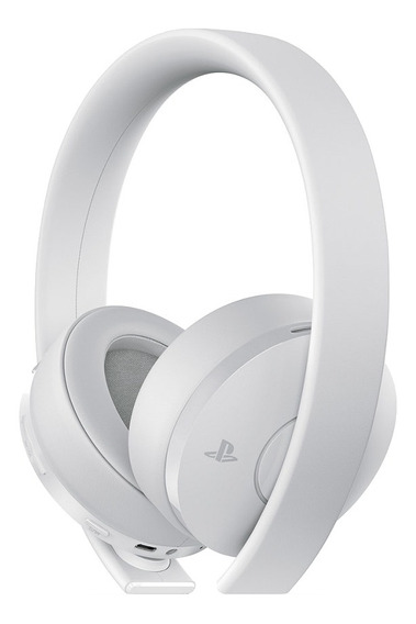 Auriculares gamer inalámbricos Sony PlayStation Gold white