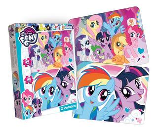 My Little Pony 2 Puzzles Rompecabezas 24 Y 36 Piezas Normal