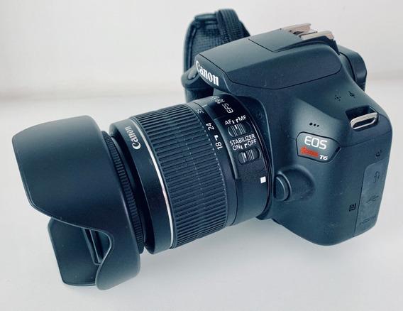 Câmera Dslr Canon Rebel Eos T6 Com Acessórios