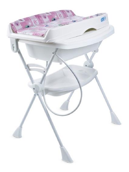 Banheira Para Bebê Burigotto Splash Peixinhos Rosa