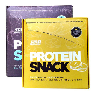 Protein Snack Barras Proteicas 12u X 2un. Star Nutrition