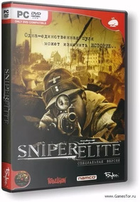Sniper Elite - Dvd Pc - Mídia Física