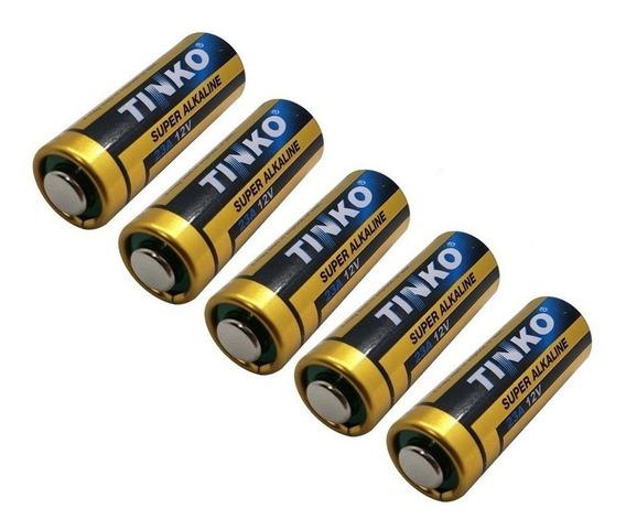 5 Pilhas 12v A23 Baterias Controle 433mhz Portão Alarme