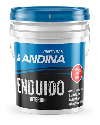 Enduido Interior Blanco Obra 30kg Andina 18 Cuotas S/int