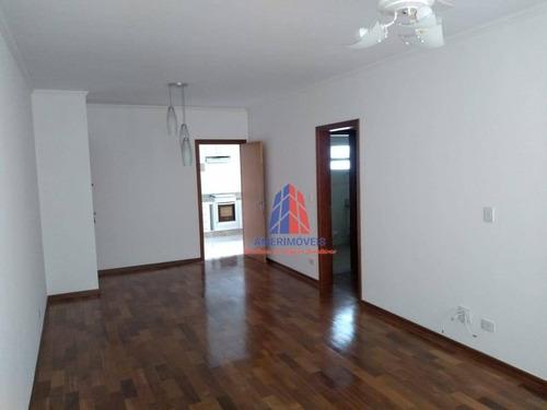Apartamento Com 3 Dormitórios À Venda, 120 M² Por R$ 600.000,00 - São Manoel - Americana/sp - Ap1073