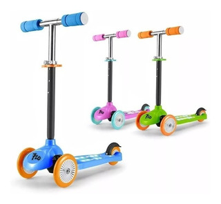 Monopatin Scooter Ledlight 3 Colores 720
