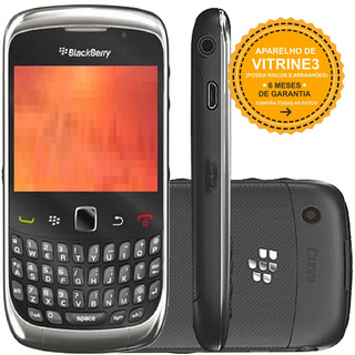 Celular Blackberry Curve 9300 Single 3g 2mp Cinza Vitrine 3