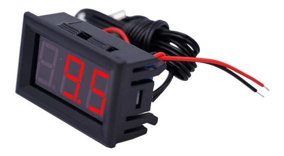 Termômetro Digital Painel Máquina Embutir 12v -50° 110° Carr