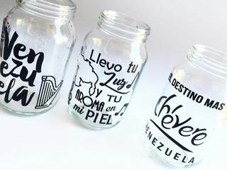 Envase De Vidrios Personalizados Sin Tapa