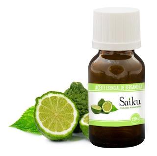 Aceite Esencial Puro De Bergamota Saiku 15ml En Belgrano