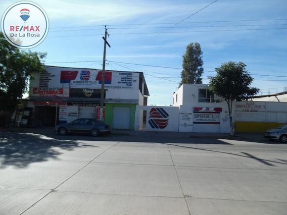 Multifuncional Propiedad Con Locales, Casa Habitacion Y Bodega En Venta