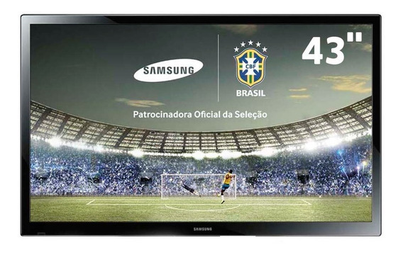 Tv Plasma 43 Samsung Pl43f4000 Conversor, Hdmi - Sem Base