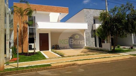 Excelente Casa À Venda No Condomínio Reserva Real - Paulínia - Ca0463