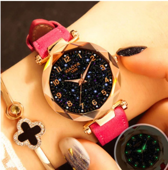 Relógio Feminino De Pulso Céu Estrelado - Tephea/xiaoya Luxo