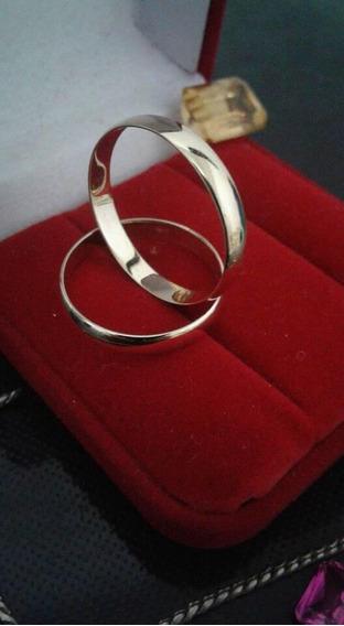 Aliança De Casamento E Noivado Em Ouro