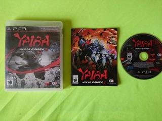 Yaiba: Ninja Gaiden Ps3 Garantizado (completo)