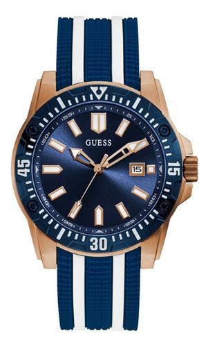 Reloj Guess Skipper Caballero Gw0055g1 Azul