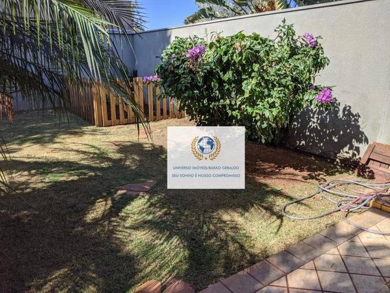 Casa Com 3 Dormitórios À Venda, 160 M² Por R$ 760.000,00 - Cidade Universitária - Campinas/sp - Ca1196