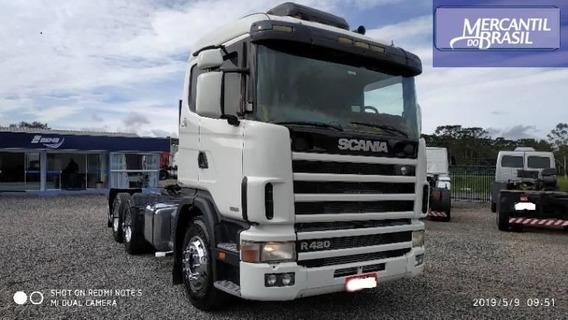 Scania P124 Ca 420 6x4nz 420 Cavalo Ano 2006