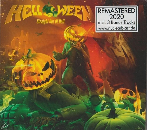 Cd Cd Helloween Straight Out Of H Helloween