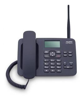 Telefone Celular Rural De Mesa 2 Chips Ca-42s Aquário Desblo