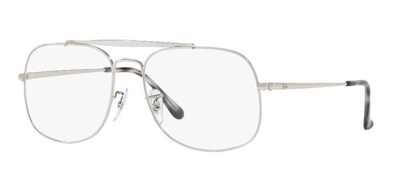 Ray Ban Oftalmico Rb6389 2501 The General Plateado Gris