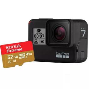 Câmera De Ação Go Pro Hero 7 C/ Cartão Sandisk 32gb Extreme