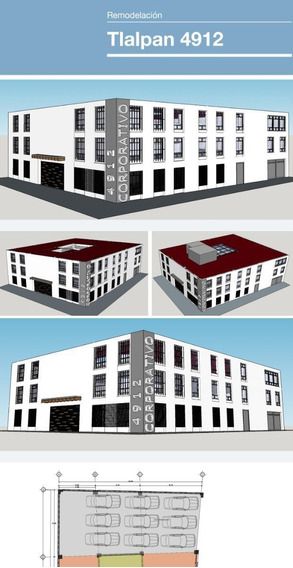 Renta Edificio Completo En Tlalpan