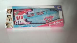 Guitarra Electrica Juguete Con Luz Y Sonido @ Mca