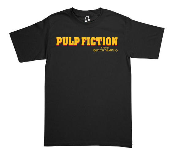 Playera Pulp Fiction - Quentin Tarantino