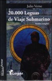20000 Leguas De Viaje Submarino - Julio Verne - Libro Envio