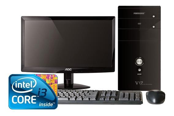 Pc Core I3 4 Gb 500 Gb Hd Completo