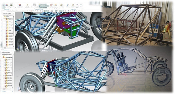 Construí Tu Arenero Utv Buggy Auto Electrico Cuatriciclo