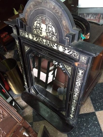 Antiguo Espejo De Pared Muy Antiguo - Antig La Rueda - _lr