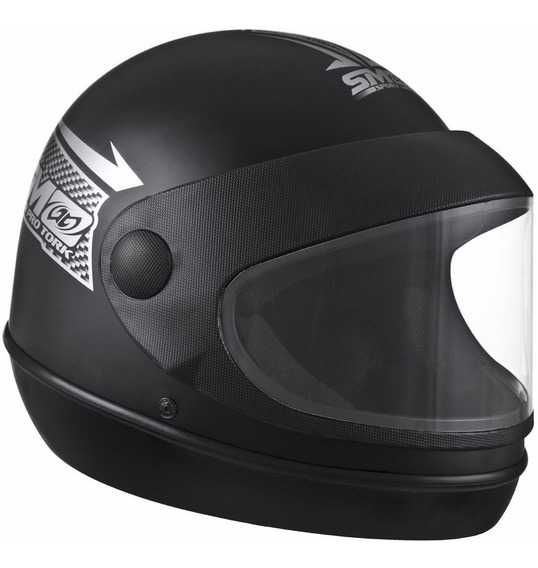 Capacete Sport Moto Tork (fechado E Automático)