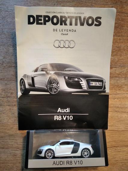Auto De Colección Deportivos De Leyenda (audi R8 V10)
