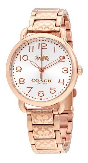 Relógio Coach Feminino Delancey Rose 14502497