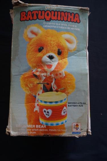 Urso Batuquinha - Mimo - Anos 70 - Na Caixa