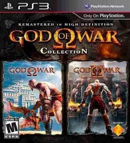 God Of War Collection 1 E 2 Ps3 Psn