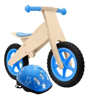 Bici Original Muvin Sin Pedales Madera Infantil Chicos