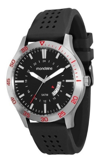 Relógio Mondaine Masculino Puls Borracha - 34694