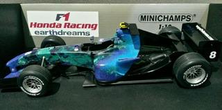 Miniatura 1/18 Minichamps F1 Honda Ra107 2007 Barrichello