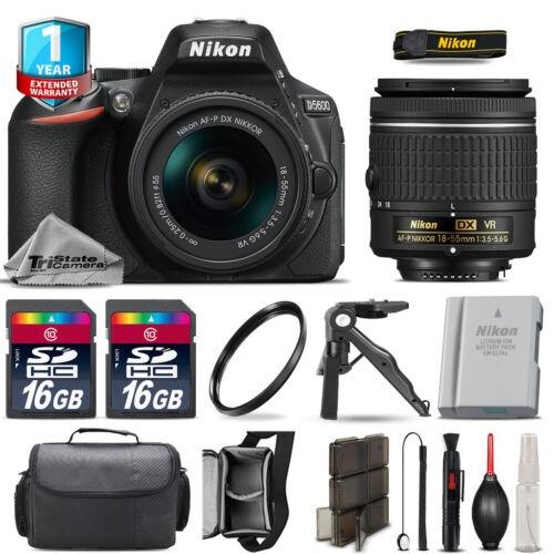 Nikon D5600 Dslr Camera + 18-55 Mm Vr + Batería Adicional