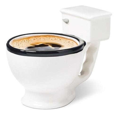 Taza Para Café Inodoro Wc